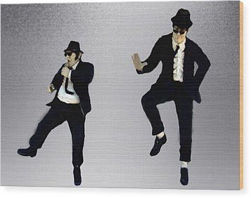 The Blues Brothers Wood Print by Jeff DOttavio