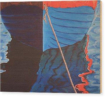 The Boat Wood Print by Jennifer Lynch