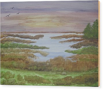 The Boggy Wood Print by Maris Sherwood