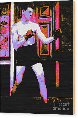 The Boxer - 20130207 Wood Print by Wingsdomain Art and Photography