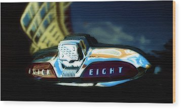 The Buick Eight  Wood Print by Steven Digman