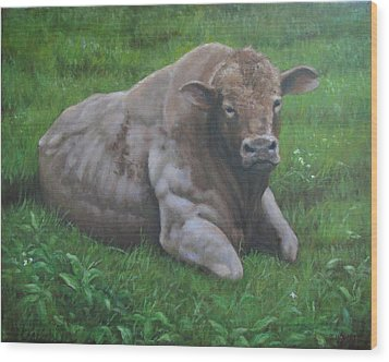 The Bull Wood Print by Stephen Howell