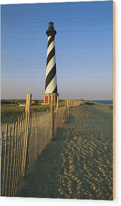The Cape Hatteras Lighthouse Wood Print by Steve Winter
