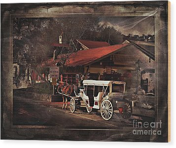 The Carriage Wood Print