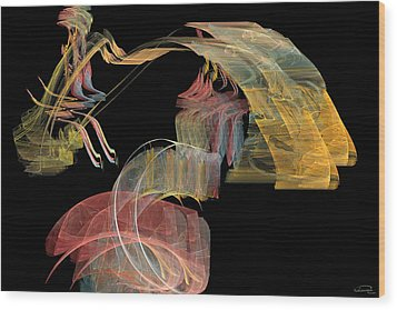 The Carriage Wood Print by Emma Alvarez