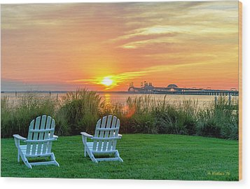 The Chesapeake Wood Print by Brian Wallace