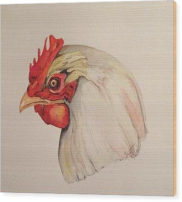 The Chicken Wood Print