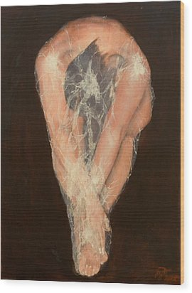 The Chrysalis Wood Print by Jane  Simpson