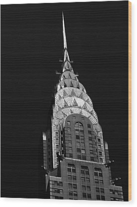 The Chrysler Building Wood Print by Vivienne Gucwa
