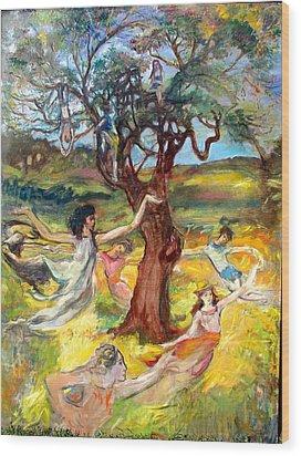 the Cinnamon Tree Wood Print