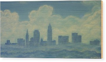 The Cleveland Blues Wood Print by James Violett II