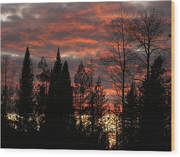 Wood Print featuring the photograph The Close Of Day by DeeLon Merritt