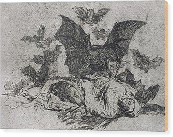 The Consequences Wood Print by Goya