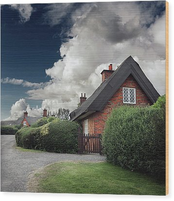 The Cottage Wood Print by Ian David Soar