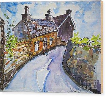 The Cottage Kinsale Wood Print by Lidija Ivanek - SiLa