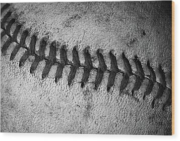 Wood Print featuring the photograph The Curve Ball by David Patterson