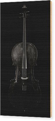 The Curve Of Her - Two Wood Print by Sam Hymas