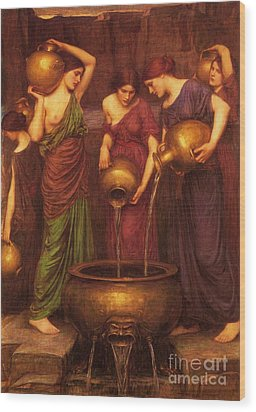 The Danaides Wood Print by Pg Reproductions
