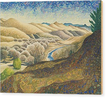 The Dearborn River Wood Print by Dale Beckman