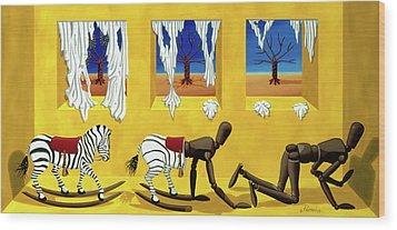 The Death Of Innocence Wood Print