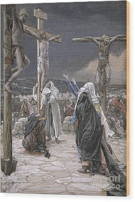The Death Of Jesus Wood Print by Tissot