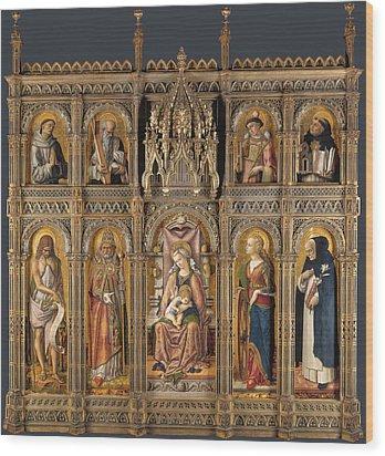 The Demidoff Altarpiece Wood Print