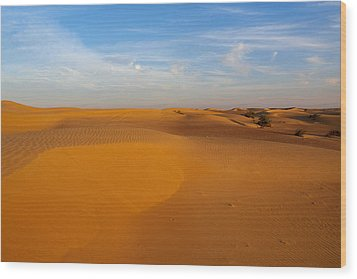The Desert  Wood Print by Jouko Lehto