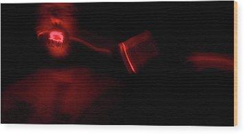 The Devil Inside Me Wood Print