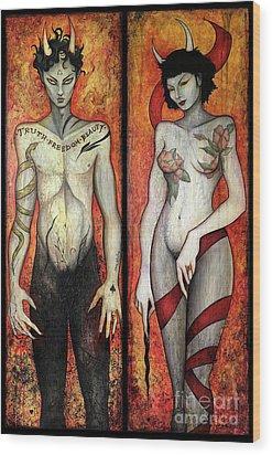 The Devils Wood Print by Dori Hartley