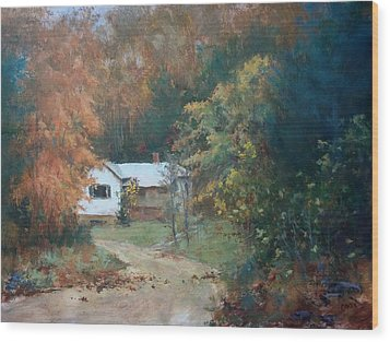 The Dixon Place Wood Print by Ed Gowen