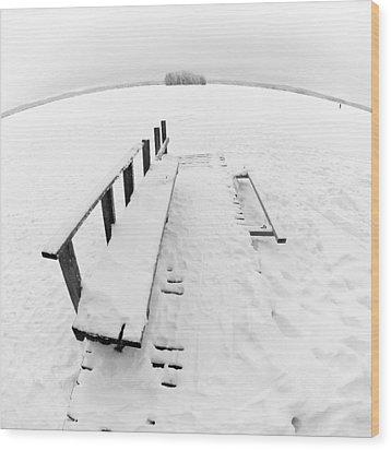 The Dock 1 Wood Print by Jouko Lehto