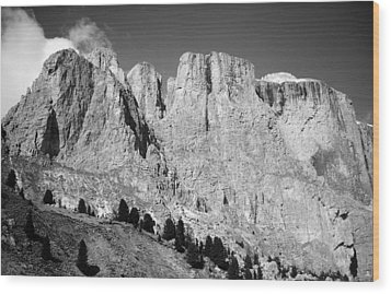 The Dolomites Wood Print by Juergen Weiss