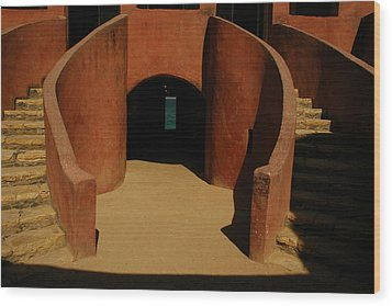 The Door Of No Return On Goree Island Wood Print by Bobby Model