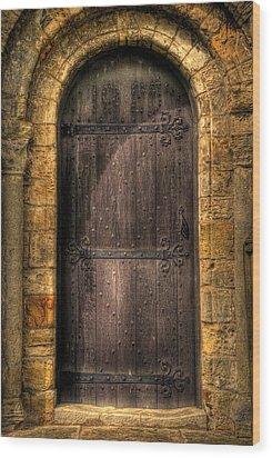 The Door Wood Print by Svetlana Sewell