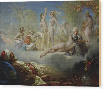 The Dream Of The Believer Wood Print by Achille Zo