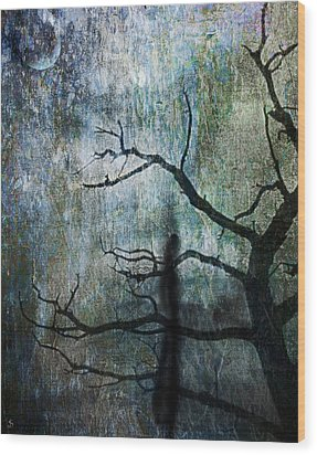 The Dreaming Tree Wood Print by Ken Walker