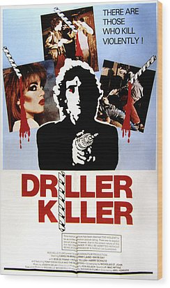 The Driller Killer, Abel Ferrara, 1979 Wood Print by Everett