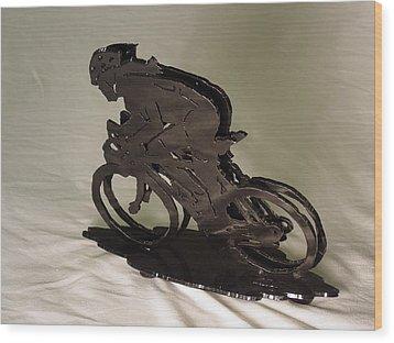 The Duel Wood Print by Steve Mudge