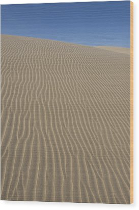 Wood Print featuring the photograph The Dune by Tara Lynn