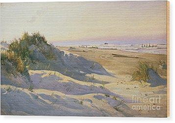 The Dunes Sonderstrand Skagen Wood Print by Holgar Drachman