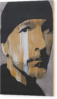 The Edge Wood Print by Brad Jensen
