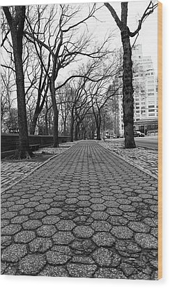 Wood Print featuring the photograph The Edge Of The Upper East Side by Lora Lee Chapman