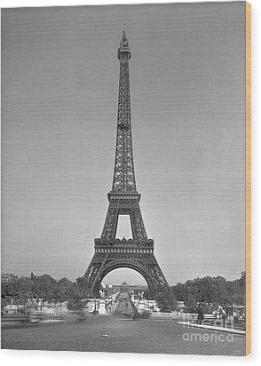 The Eiffel Tower Wood Print by Gustave Eiffel