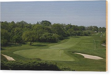 The Eighteenth At Montauk Downs Wood Print
