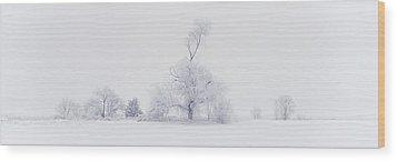 The Eldar Tree Wood Print by Dustin LeFevre