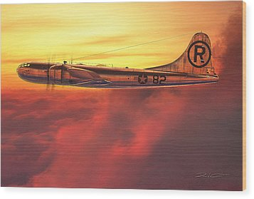 Enola Gay B-29 Superfortress Wood Print by David Collins