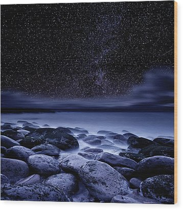 Wood Print featuring the photograph The Essence Of Everything by Jorge Maia