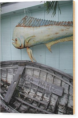 Wood Print featuring the photograph The Eva Marie by Nancy Taylor