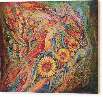 The Evidence Of Miracle Wood Print by Elena Kotliarker