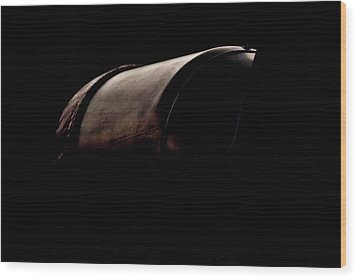 The Exhaust Wood Print by Paul Job